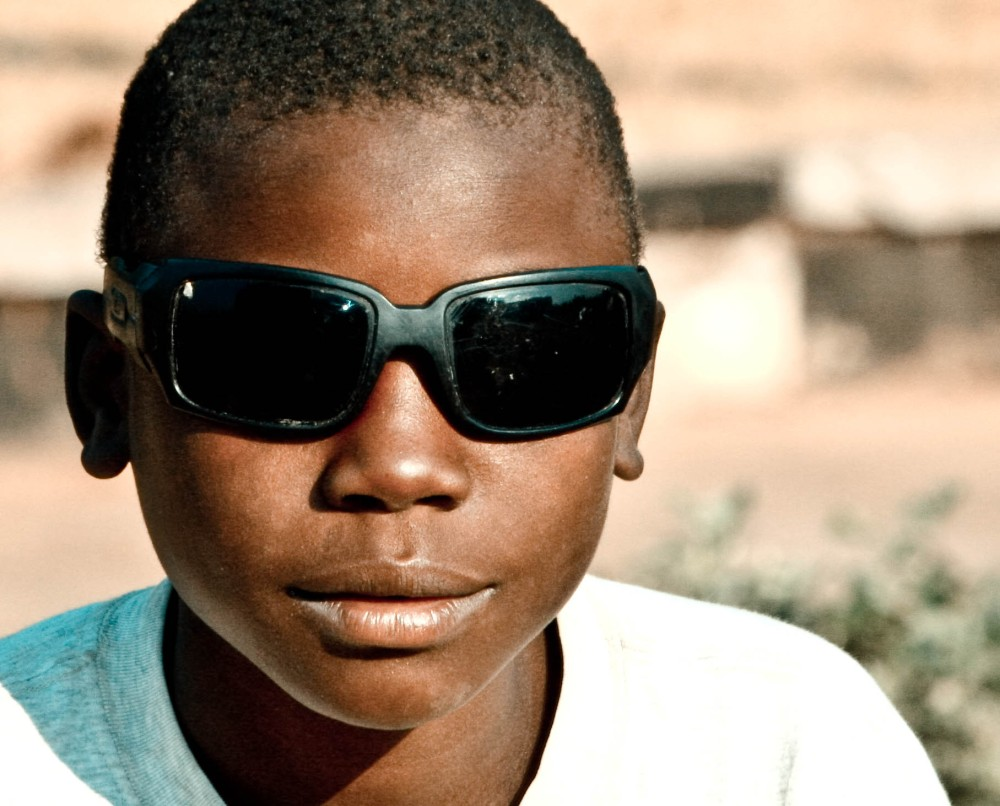 Blind Boy - Faces of Zambia