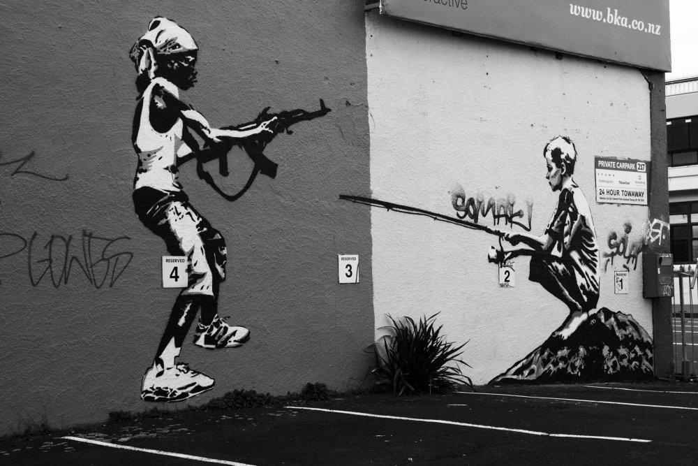 Auckland- Street Art