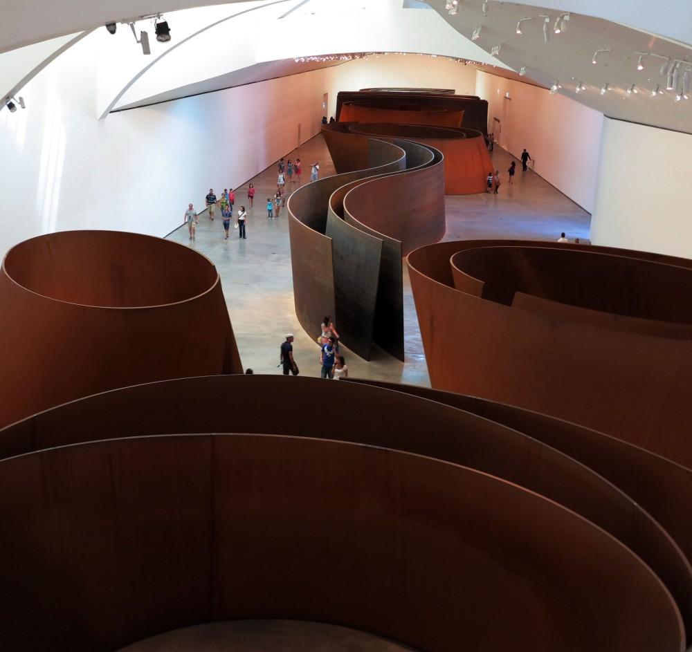 Richard Serra - Guggenheim Museum Bilbao